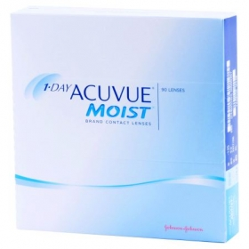 ACUVUE 1 DAY MOIST 90-PACK