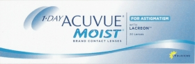 ACUVUE 1 DAY MOIST FOR ASTIGMATISM 30-PACK